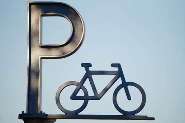 バイク置場、駐輪場