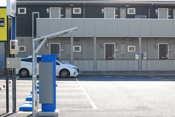 00坪の土地で駐車場経営 コインパーキング