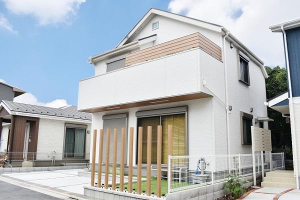 「新築する」戸建て賃貸の始め方 新築戸建て外観