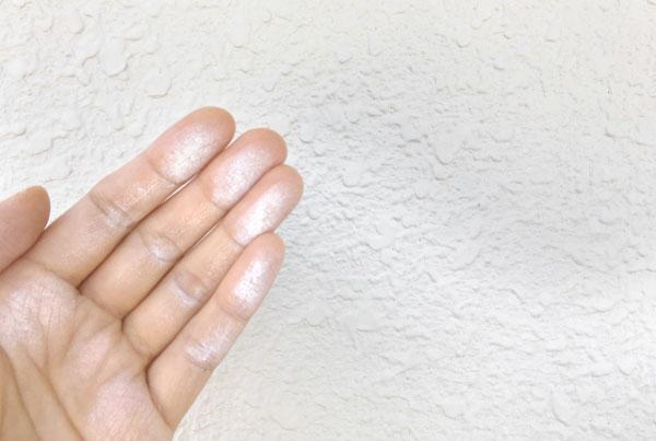 塗装したほうがよいかどうか?外壁劣化の現れの例 チョーキング