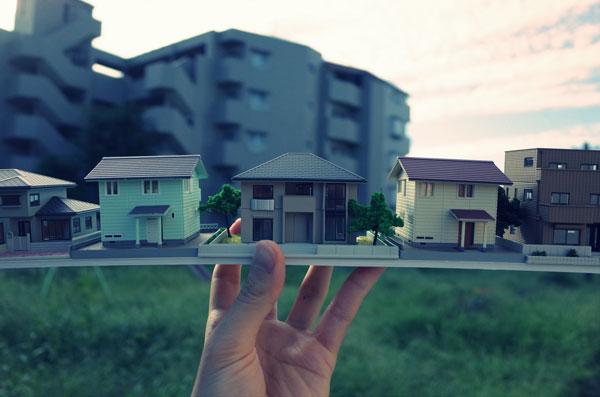 【土地・建物・マンション別】不動産相続で知っておくべきこと 住宅模型